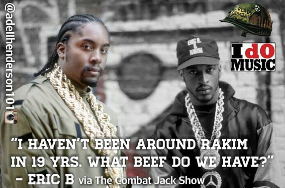 Eric B. Explains Why He and Rakim Haven't Been Together For 19 Years and More