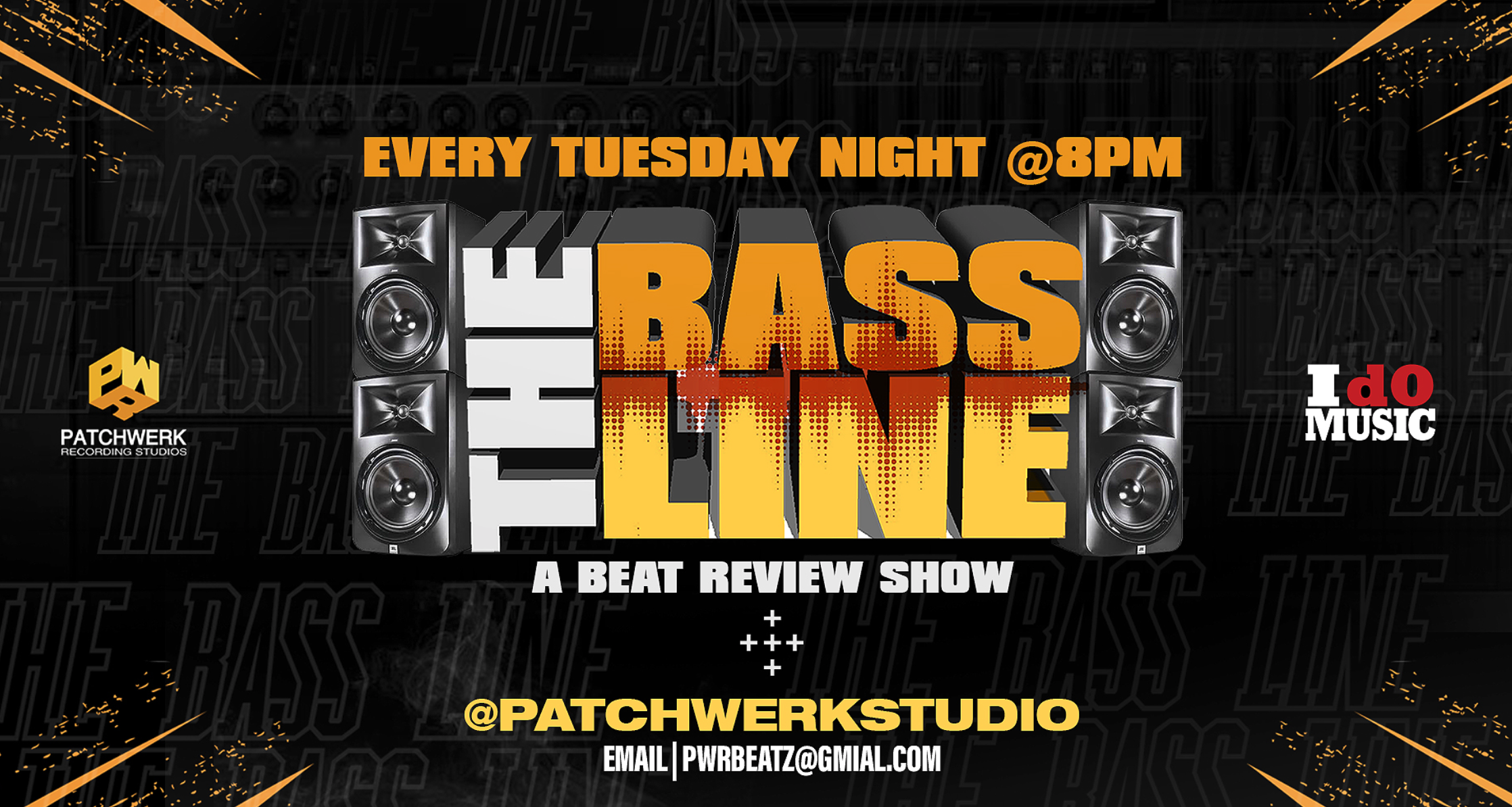 Patchwerk Presents: The Bassline Online Producer Review Show 3/3/20