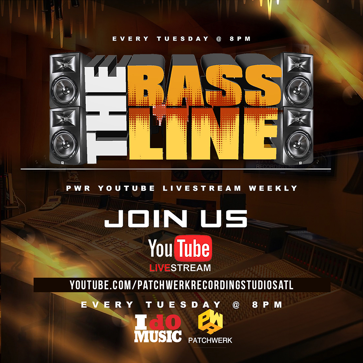 Patchwerk Presents: The Bassline 8/20/19