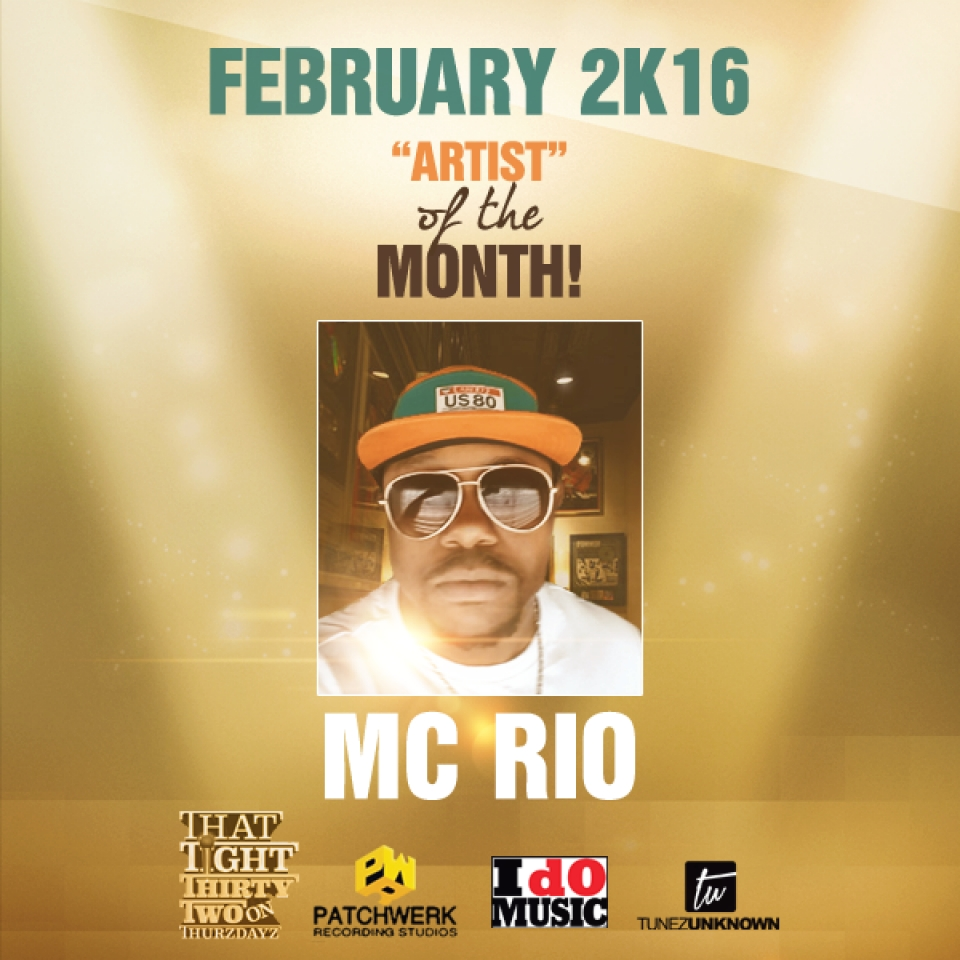 February Tight 32 Artist Of The Month: MC RIO